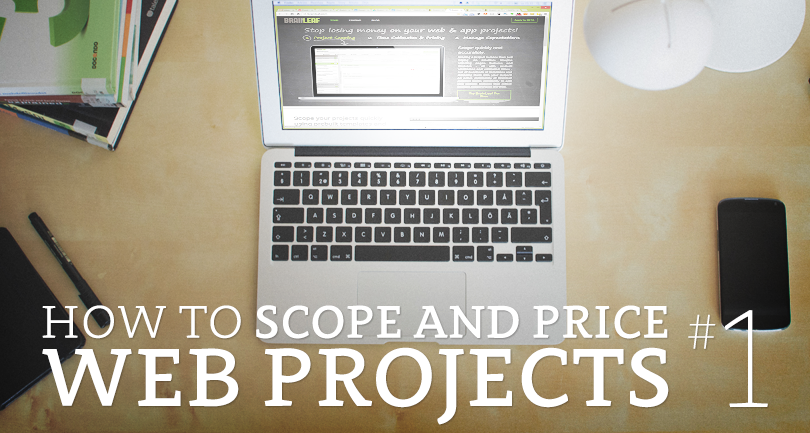 How to scope and price a web project #1