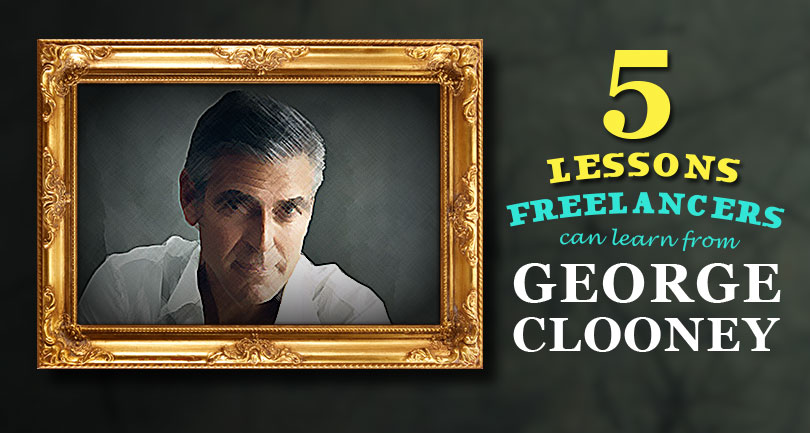 Five Lessons Freelancers Can Learn From George Clooney