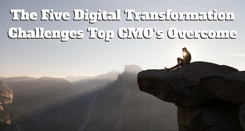 The Five Digital Transformation Challenges Top CMOs Overcome