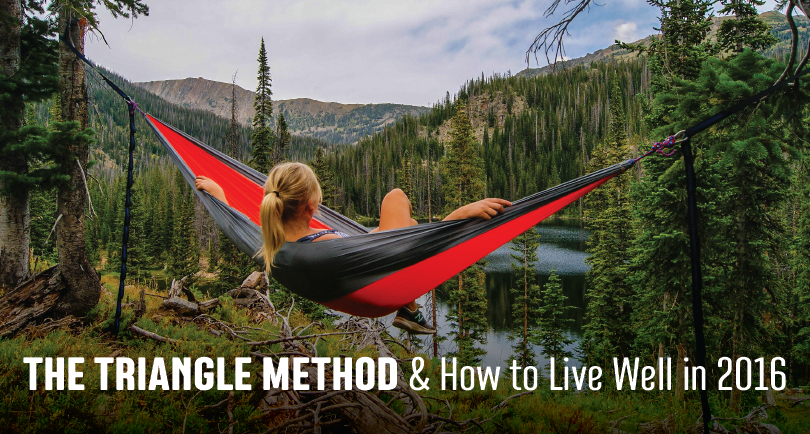 The Triangle Method and How to Live Well in 2016