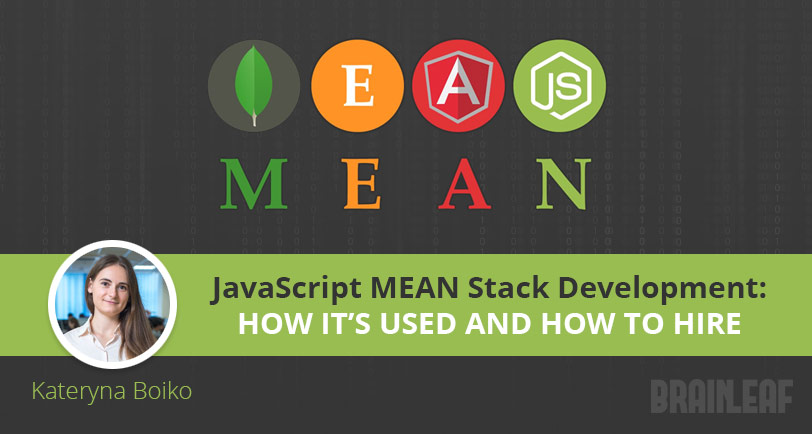 JavaScript MEAN Stack Development