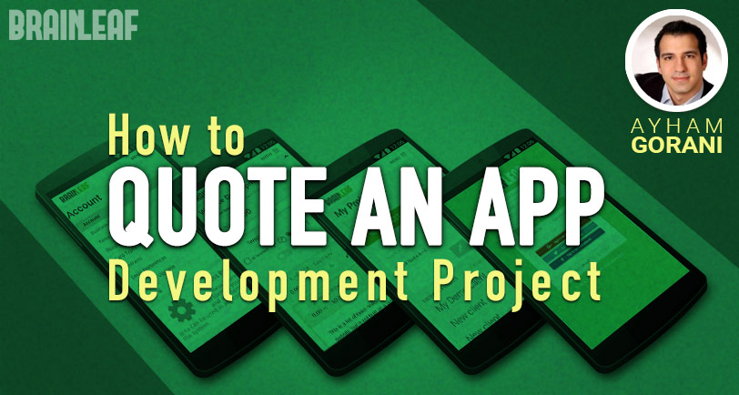 How to Quote an App Development Project