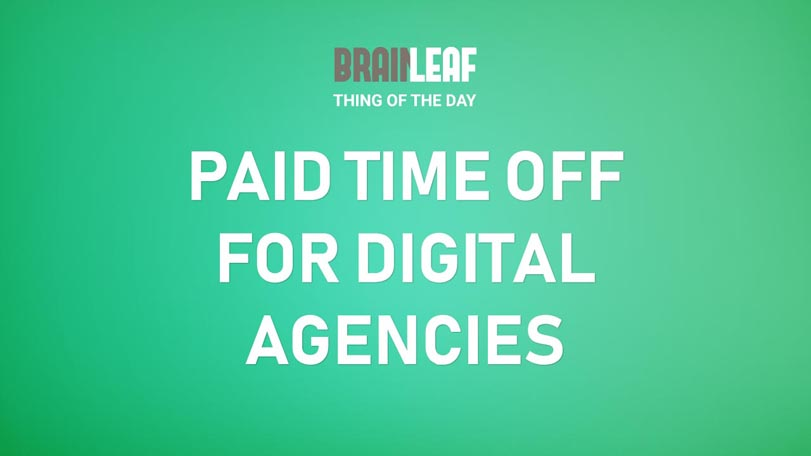 Paid Time Off and Company Policies At Digital Agencies Of Different Sizes